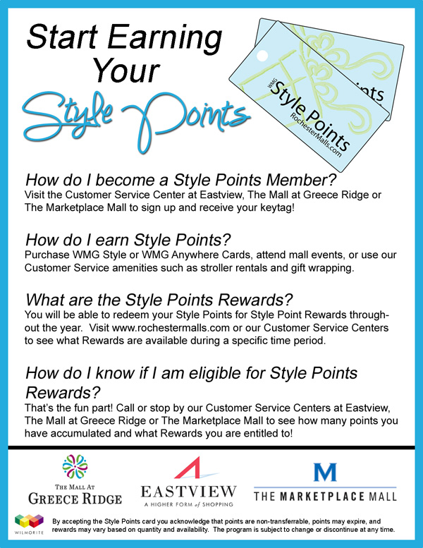 Start Earning your style points